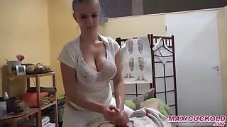 Czech knockout with meaty bosoms is doing everything their way custom want, even if she gets some money