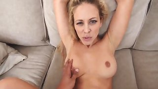 White man milf Cherie Deville all over Impregnated By My