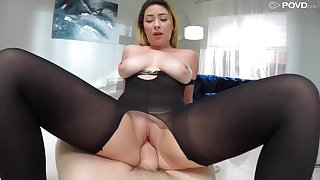 Grown up wife Serena Skye fingered together with fucked by the neighbor