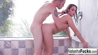 Wolf Decided To Fuck Natasha Nices Sloppy Pussy