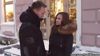 Russian student Svetlana hooks up with several on the brink of known guy
