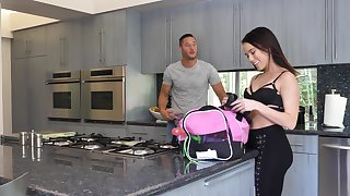 Mesmerizing scenes of anal missionary for sweet Megan Rain