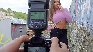 Briana's Outdoor Injection Shoot